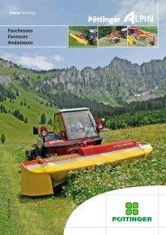 Faneuses de montagne - Alois Pöttinger Maschinenfabrik GmbH
