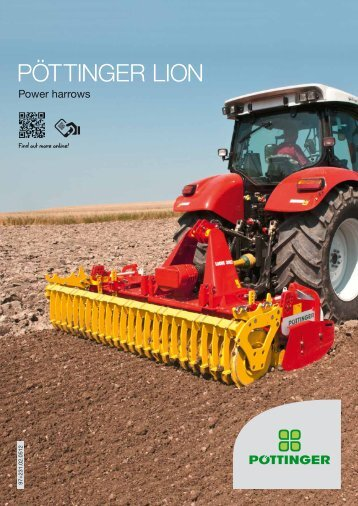 LION Power harrows - Alois Pöttinger Maschinenfabrik GmbH