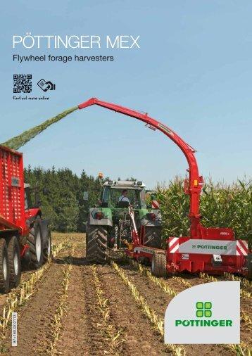 MEX Flywheel forage harvesters - Alois Pöttinger Maschinenfabrik ...