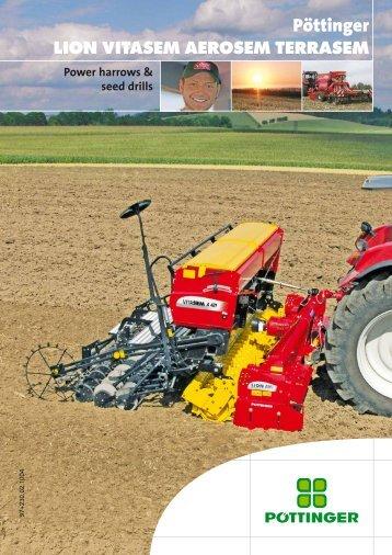 Power harrows and seed drills brochure - Alois Pöttinger ...