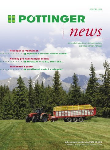 PODZIM 2007 Informační magazín pro obchodní partnery a ...