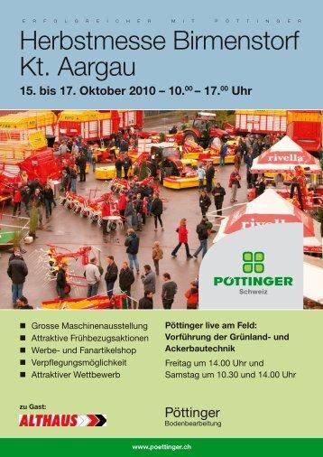 Nähere Details auf dem Flugblatt - Alois Pöttinger Maschinenfabrik ...