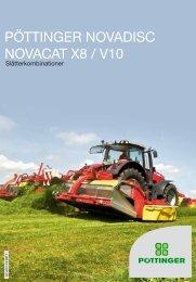 PÖTTINGER NOVADISC NOVACAT X8 / V10 - Alois Pöttinger ...