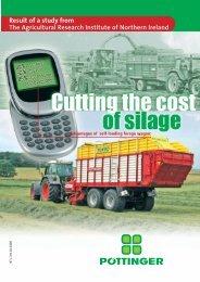 Study: Cutting the cost of silage - Alois Pöttinger Maschinenfabrik ...
