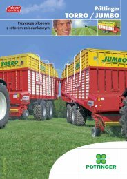 Pöttinger TORRO / JUMBO - Alois Pöttinger Maschinenfabrik GmbH