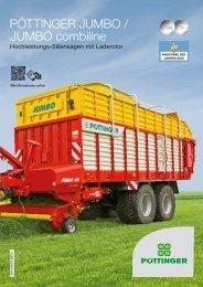 JUMBO / JUMBO combiline - Alois Pöttinger Maschinenfabrik GmbH