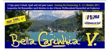 Bella Carinthia V - bei Pohle Air
