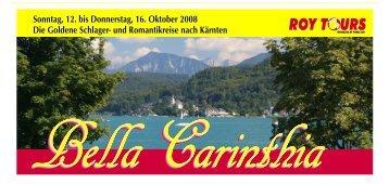 Bella Carinthia - Die goldene Schlager- und ... - bei Pohle Air
