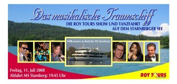 Das musikalische Traumschiff - bei Pohle Air