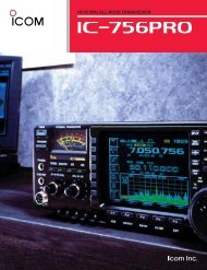 HF/50 MHz ALL MODE TRANSCEIVER - Point electronics
