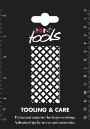 TOOLING & CARE - Point