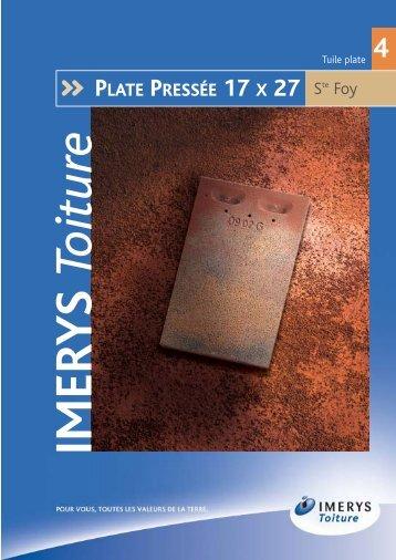 Tuile plate - Lautoconstructeur.fr