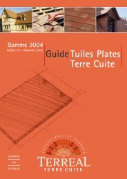 Guide Tuiles Plates Terre Cuite - Point.P