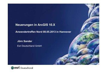 Esri Neuerungen in ArcGIS 10.X - Points Verlag
