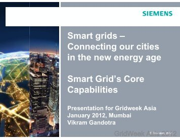 PointView presentation for GridWeek Asia 2012 by Vikram Gandotra