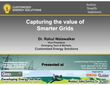 PointView presentation for GridWeek Asia 2012 by Rahul Walawalkar