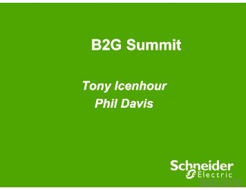 PointView presentation for B2G 2010 by Tony Icenhour