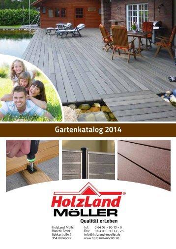 Gartenkatalog 2014 - HolzLand Möller