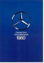 Daimler-Benz Geschäfstbericht 1980