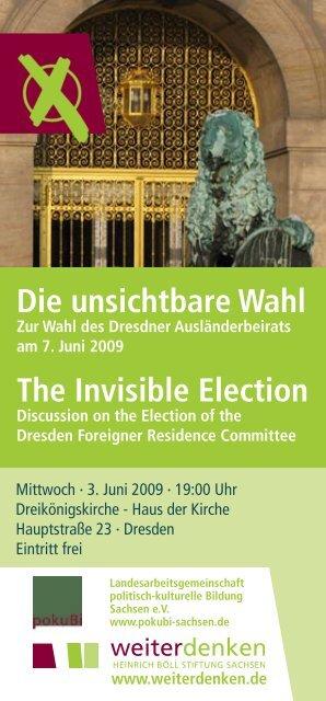 Postkarte Wahl Ausländerbeirat.indd - Landesarbeitsgemeinschaft ...