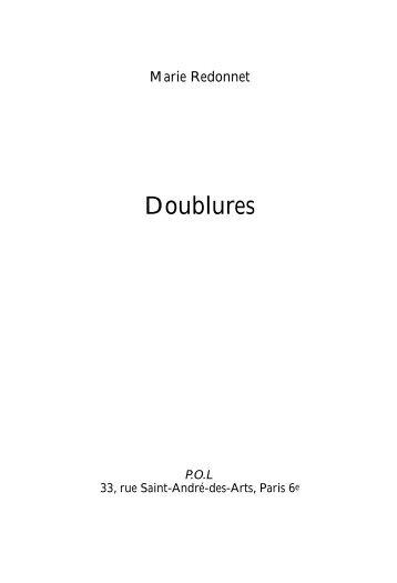 Doublures - POl