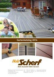 Gartenkatalog 2014 - Holz Scherf