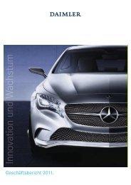 Daimler Geschäftsbericht 2011