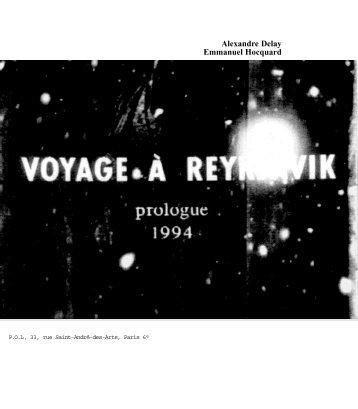 Alexandre Delay Emmanuel Hocquard - POl