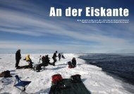 An der Eiskante - Polar-Reisen.ch