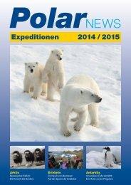 Reiseprospekt lesen - Polar-Reisen