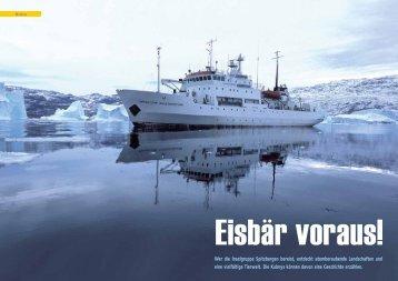 Reisebericht - Spitzbergen 2007 - Polar-Reisen.ch