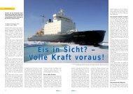 Eis in Sicht - Polar-Reisen.ch