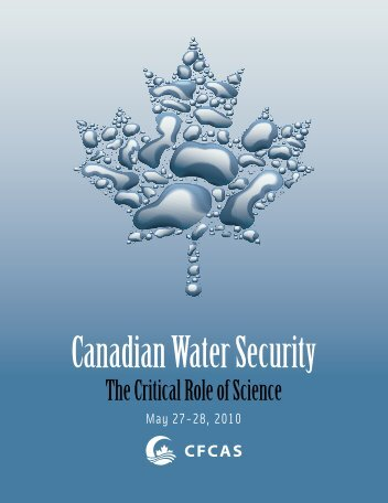 Canadian Water Security - Commission canadienne des affaires ...