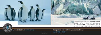 Programm als Download... - Internationales Polarjahr