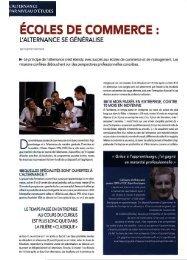 ÉCOLES DE COMMERCE : - Pôle ESG