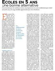 ECOLES EN 5 ANS - Pôle ESG
