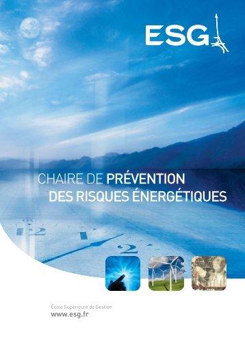 risques énergétiques - Pôle ESG