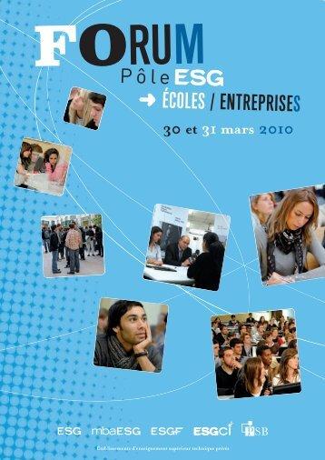 les entreprises - Pôle ESG