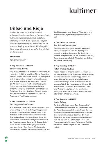 Bilbao und Rioja