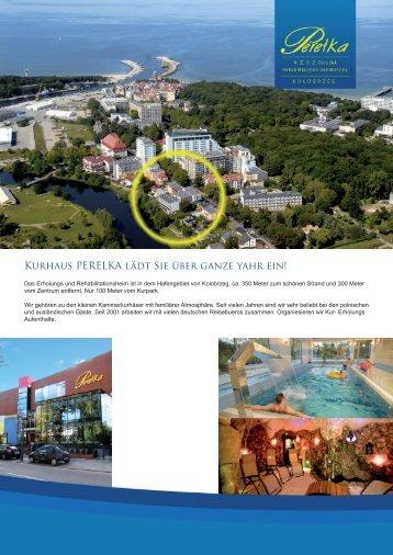 Zum Hotelprospekt: Kurhaus Perelka (pdf)