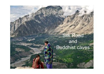 Silk Road and Buddhist caves