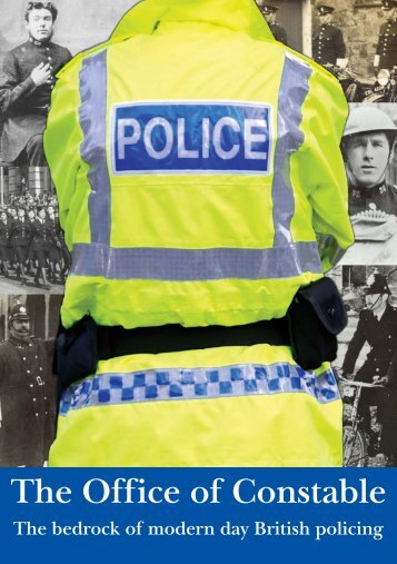 Office of Constable pamphlet - Police Federation