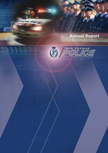 Annual Report - New Zealand Police