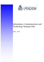 Information, Communications and Technology Strategic Plan 2005 ...