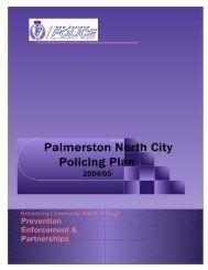 Area Policing Plan 2004 / 2005 - New Zealand Police
