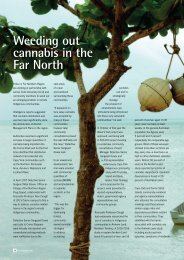 Weeding out cannabis in the Far North - Queensland Police Service