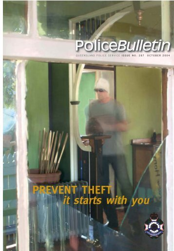 Prevent theft - it starts with you - Queensland Police Service ...