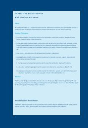 2003 Annual Report - Queensland Police Service - Queensland ...