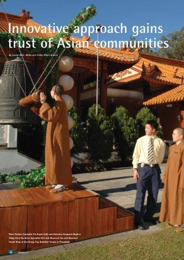 Innovative approach gains trust of Asian communities - Queensland ...