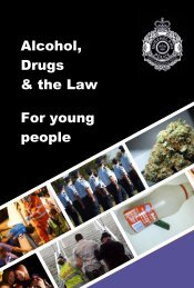 Alcohol, Drugs & the Law For young people - Queensland Police ...